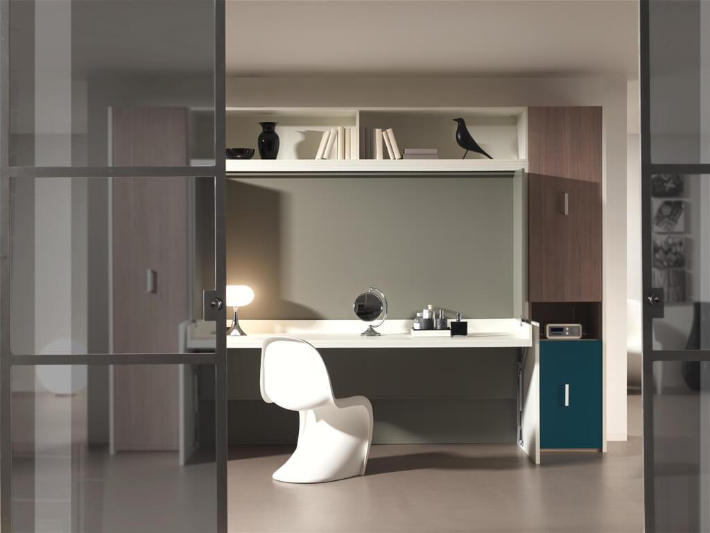 flat bureaubed van boone de beddenwinkel geldrop. Black Bedroom Furniture Sets. Home Design Ideas