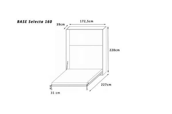 base-selecta-160 x 200 tekening
