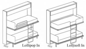 Links: uitval beveiliging staal. Rechts: uitval beveiliging gestoffeerd