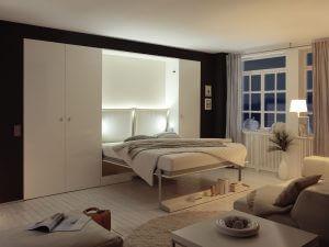 opklapbed 2wei raum wunder van nehl door de beddenwinkel. Black Bedroom Furniture Sets. Home Design Ideas